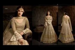 Net Embroidered Anarkali Salwar Kameez