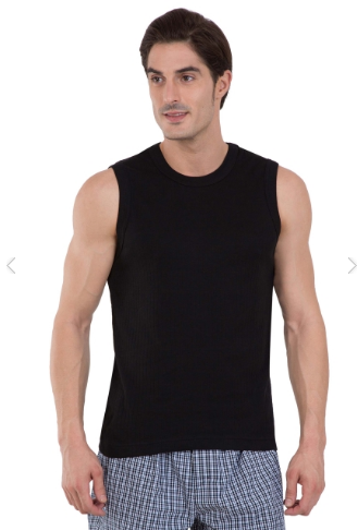 531addd336530 Jockey Black Muscle Tee