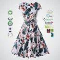 BCI Cotton Ladies Party Wear Dress