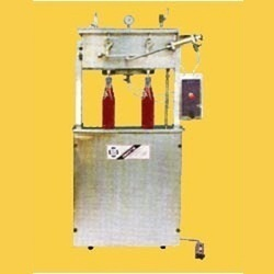 Semi Automatic Liquid Filling Machine.