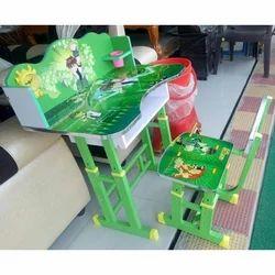 Plastic Play School Study Desk