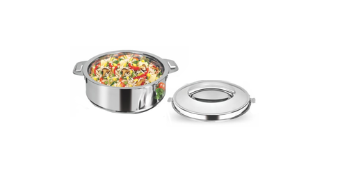 Priyaj Classic 4000 ml Insulated Stainless Steel Casserole