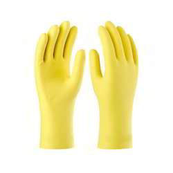 Latex Unlined Rubber Hand Gloves