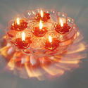 Floating Transparent Diyas (Sai Jyot)
