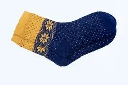 Ladies Printed Woolen Socks