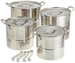 Stainless Steel Steamer Stock Pot