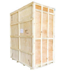 Termite Resistant Rectangle Export Packing Wooden Box, 5-15 mm, Box Capacity: 201-400 Kg