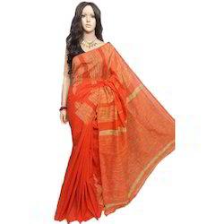 Khadi Cotton Saree, Length: 6 m