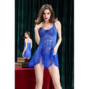 Ladies Blue Baby Doll Nightdress