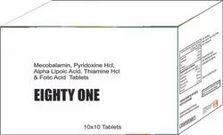 Mecobalamin Pyridoxine HCl & Folic Aicd Tablets