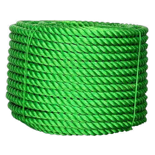 Green Plastic Rope, Usage: Industrial, Rescue Operation