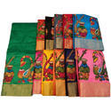 Fancy Bhagalpuri Thread Work Sarees