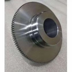 Stainless Steel CNC Gear Cutting, For Aerospace, Automotive Industry