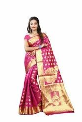 Designer Banarasi Silk Cotton Saree