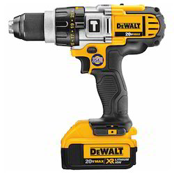 Dewalt DCD985M2 20V MAX Lithium Ion Premium 3-Speed Hammer Drill