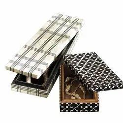 Rectangle Printed Rectangular Jewellery Box