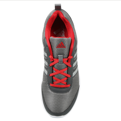 Adidas Red and Grey And White men' s running yking shoes, Size: 6 and 9