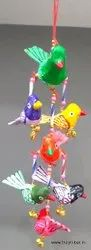 Assorted Bird Papaer Mesh Bids Wall Hanging, For Decoration, Size: 9