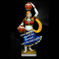 Marble Gujari statue
