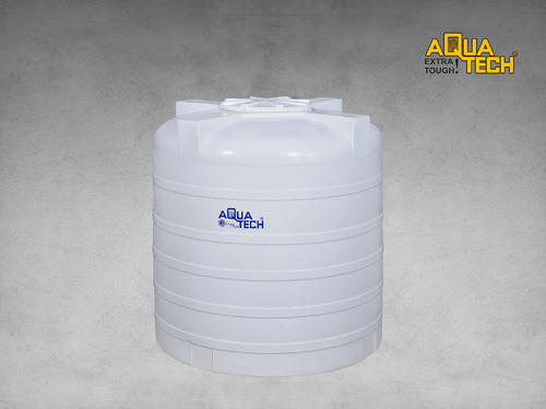 White Aquatech Triple Layer Plastic Water Storage Tanks Capacity Litre 500 1000 L Id 18484728688