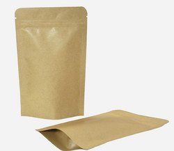 棕色可热封纸袋