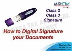 Digital Signature Class 3 Certification Services