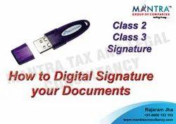 Digital Signature Class 3 Certification Services
