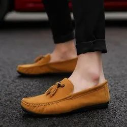 singing bird Loafer Men Casual Shoes Groovy Solid Formal Breathable Comfy Loafers, Size: 6 To 10