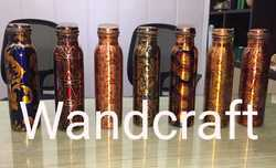 Jointless Copper Water Bottle