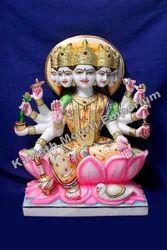 Marble Gayatri Ma Statue