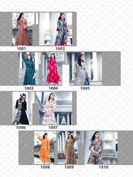 Full Sleeve Woman Designer Rayon Kurti1Q