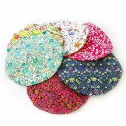 Multicolor Plastic Pieces Waterproof Reusable Bathroom Shower Caps For Women