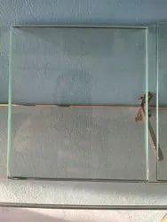 Transparent Plain Toughened Glass, Thickness: 10.0 mm, Shape: Flat