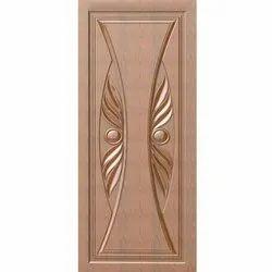 Micro Coated Wooden Wood Elite Interior Designer Wooden Door, For Home
