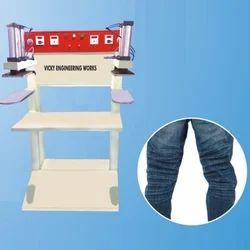 Wrinkle Jeans Machine