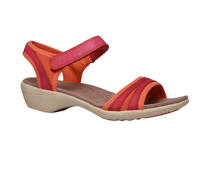 06f4e1169ea Red And Orange Women Hush Puppies Red Wedge Sandal For F66452240000ei