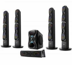 Philips and Sony Black Zebronics Dragon5.1