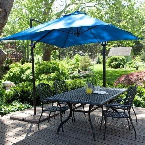 Blue Garden Awning