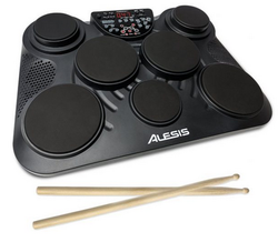 CompactKIT7 7-Pad Portable Tabletop Drum Kit