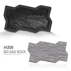 M 208 Zigzag Rock Mould