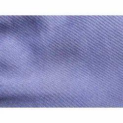 Blue Poly Cotton Fabric