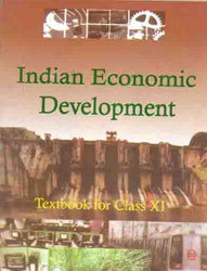 Book class indian 11 development economic ncert