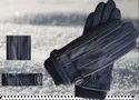 Men Black Fashion Glove