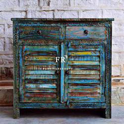 Vintage Style Furniture - Rustic Side Board