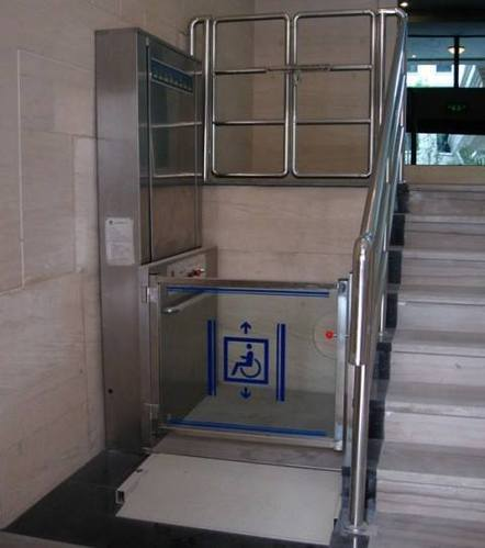 Attractive Indoor And Outdoor Wheelchair Lift