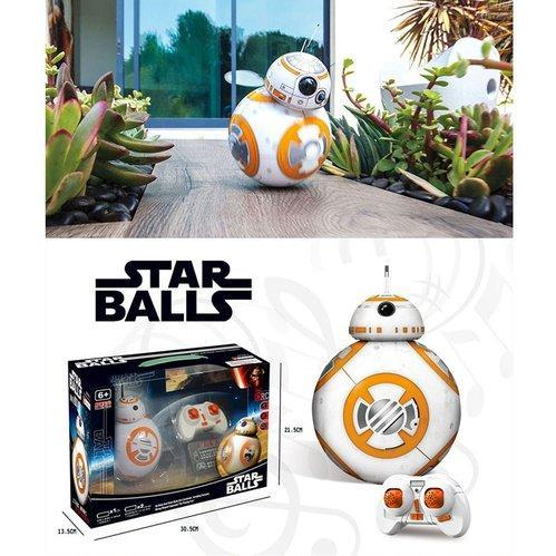 Star Wars 2 4g Remote Control Mini Bb 8 Action Figure Droid