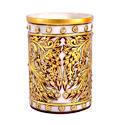 Marble Pen Holder With Heavy Gold Work