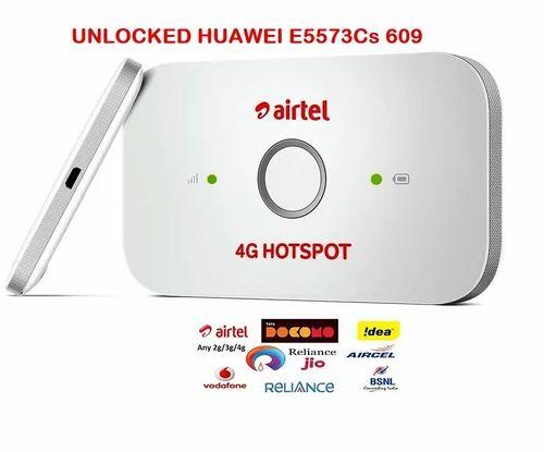 Huawei Airtel 4g Wifi Hotspot Router Unlocked  Model-E5573Cs-609