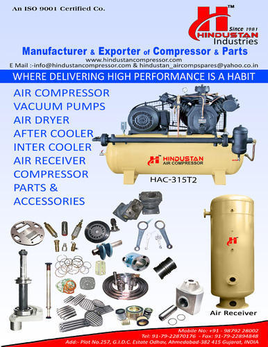 Air Compressor Replacement Parts >> Compressor Spare Parts Compressor Replacement Parts Manufacturer