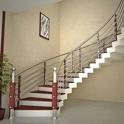 Captivating Stainless Steel Handrail At Rs 2100 /meter | Stainless Steel Handrail | ID:  16030176948